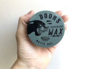 【DOORSドアーズ マットドライワックスレビュー】超軽くてドライで洗い流しやすい!新感覚なマットワックス