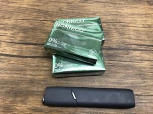【レビュー】NONNICOノンニコ ミントをアマゾンで購入して吸ってみた!